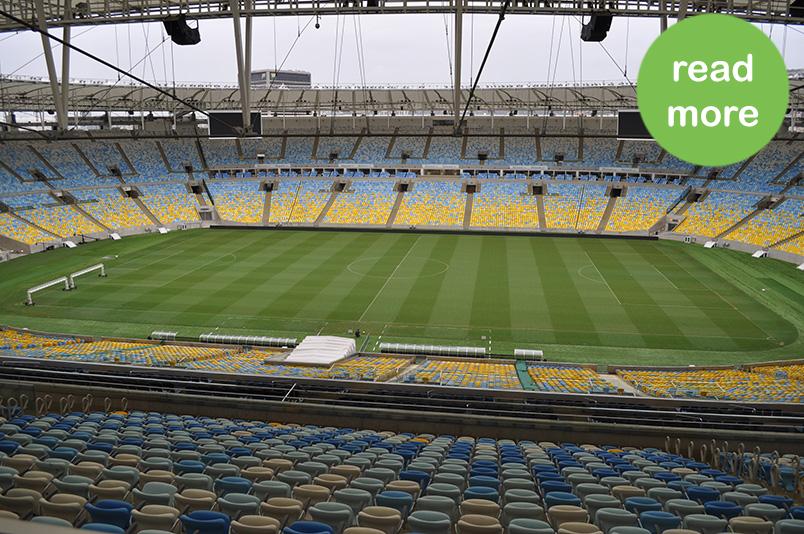 Maracanã (estádio) - Rio de Janeiro – RJ - BRASIL (Audioguide rental)